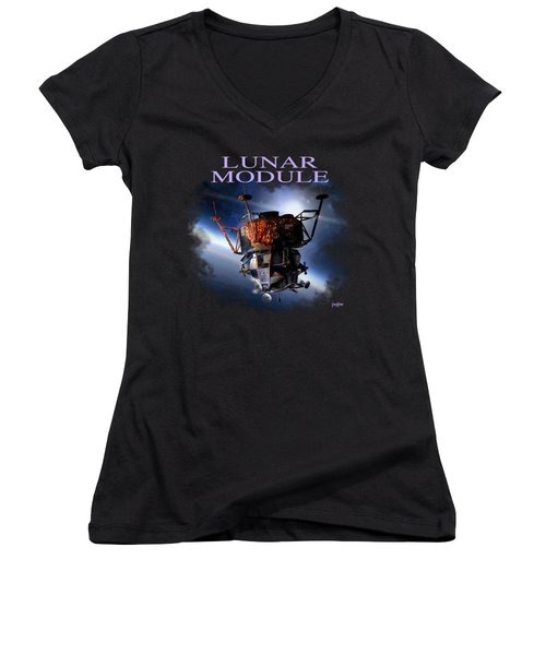 Apollo 9 Lm Women's V-Neck T-Shirt