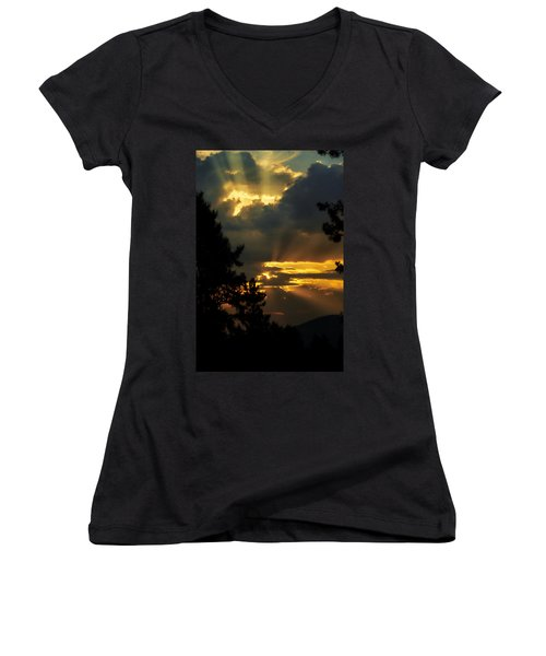 Appreciating Life Women's V-Neck (Athletic Fit)