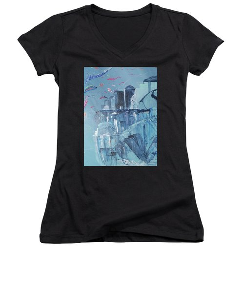 Aqua Resort Women's V-Neck (Athletic Fit)