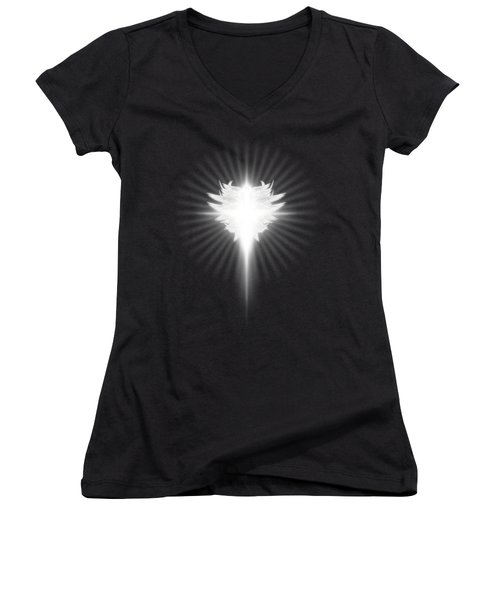 Archangel Cross Women's V-Neck (Athletic Fit)