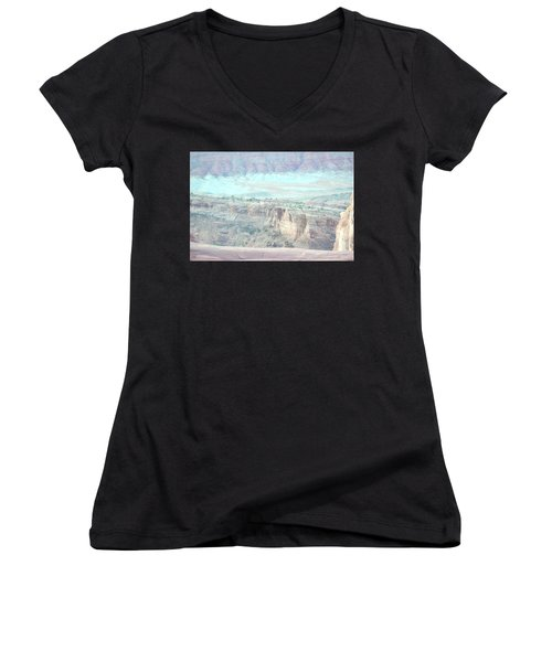 Arches No. 9-1 Women's V-Neck (Athletic Fit)