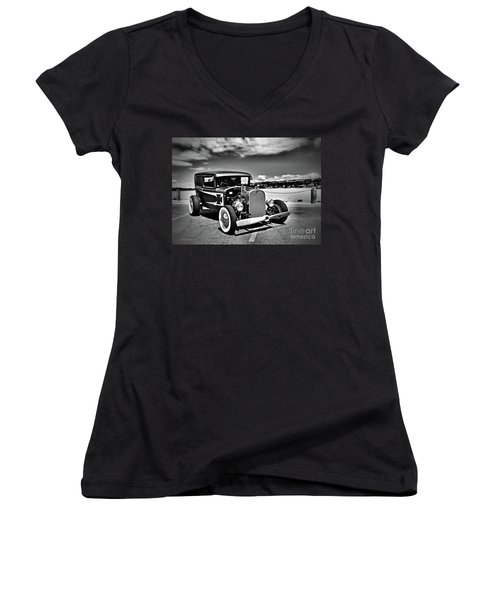 Are We Ready To Fly? Women's V-Neck T-Shirt
