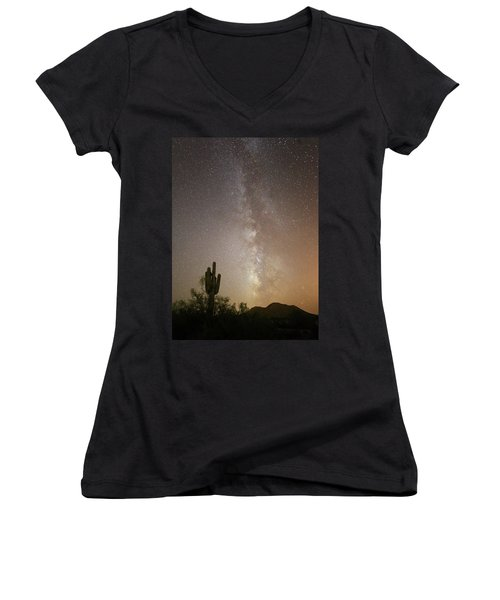 Arizona Night Women's V-Neck (Athletic Fit)