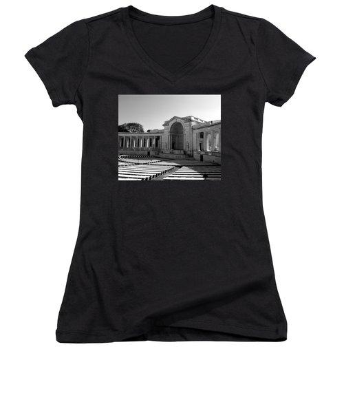 Arlington Memorial Amphitheater Women's V-Neck (Athletic Fit)