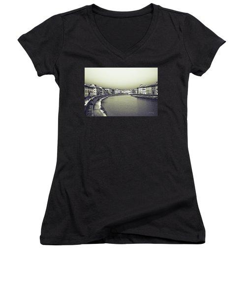Arno II Women's V-Neck T-Shirt (Junior Cut) by Joseph Westrupp