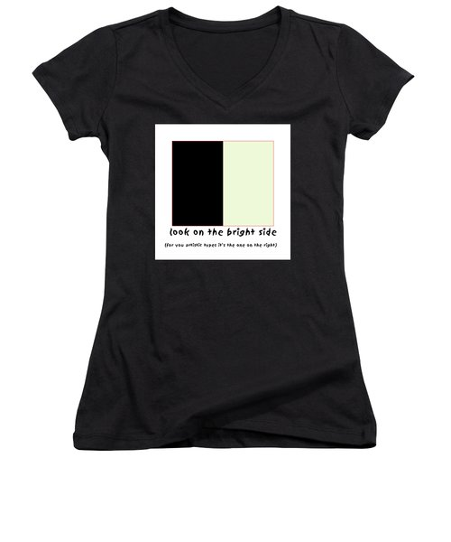Art Poster Women's V-Neck T-Shirt
