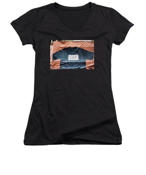 Art Shirt Women's V-Neck