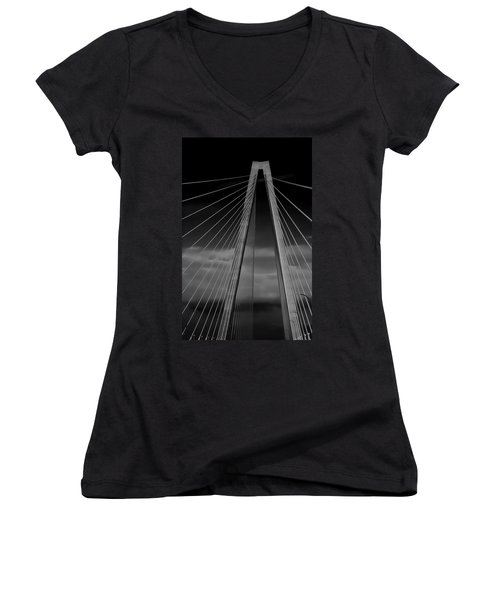 Arthur Ravenel Jr Bridge Women's V-Neck T-Shirt