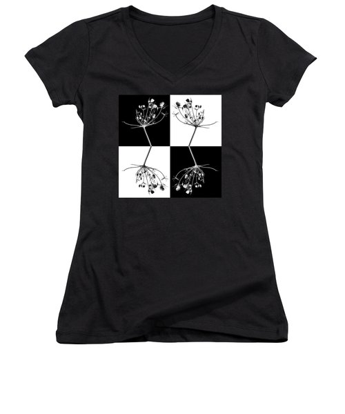 Organic Enhancements 9 Women's V-Neck T-Shirt