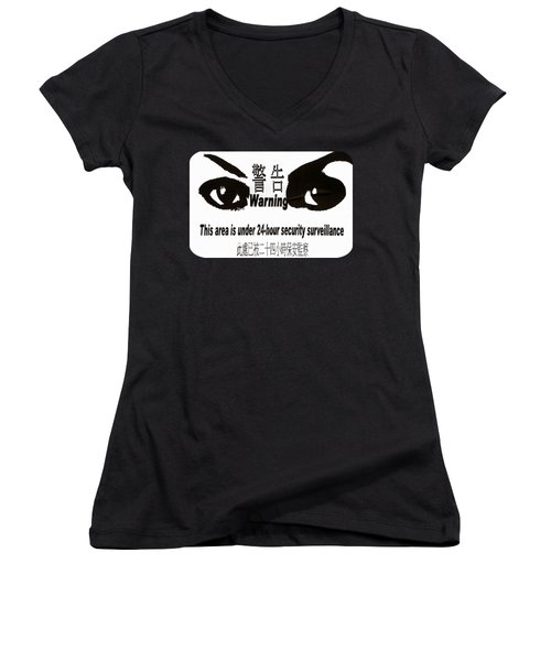 Eye Spy Women's V-Neck (Athletic Fit)