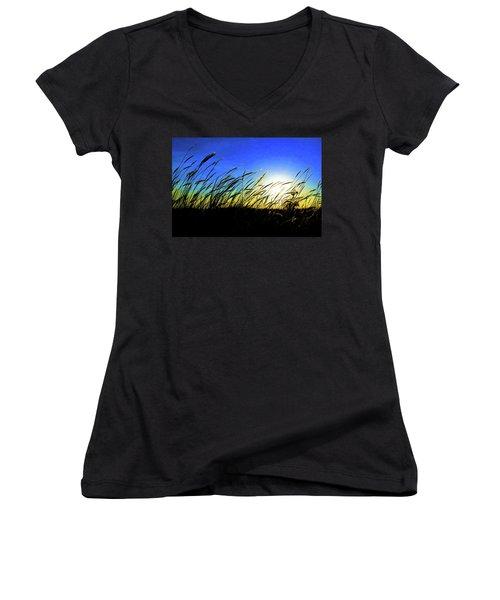 Tall Grass Women's V-Neck T-Shirt