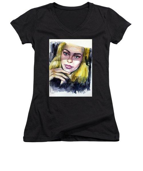 Athina Women's V-Neck T-Shirt