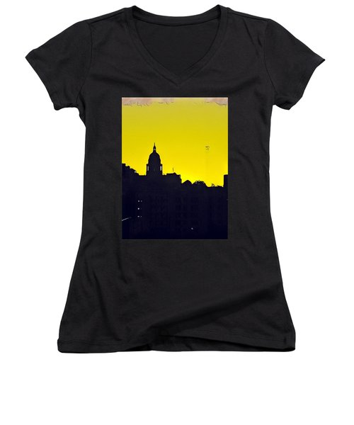 Austin Capital At Sunrise Women's V-Neck