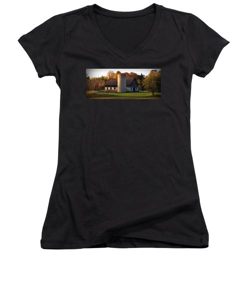 Autumn Evening Women's V-Neck