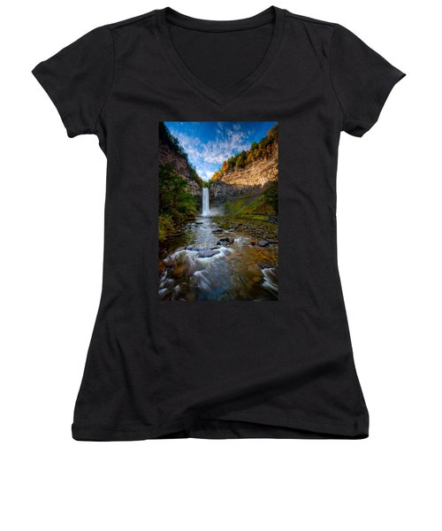 Autumn Riches Women's V-Neck (Athletic Fit)