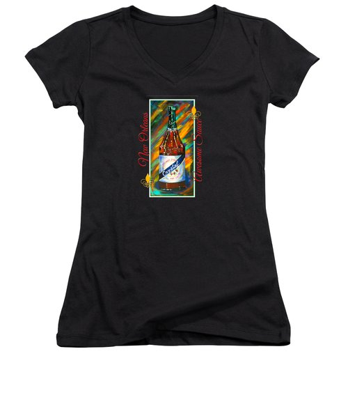 Awesome Sauce - Crystal Women's V-Neck