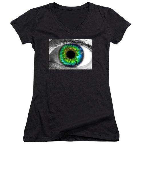Aye Eye Women's V-Neck T-Shirt