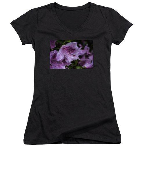 Azalea In Bloom Women's V-Neck