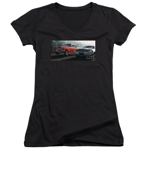 Bad Company Women's V-Neck T-Shirt