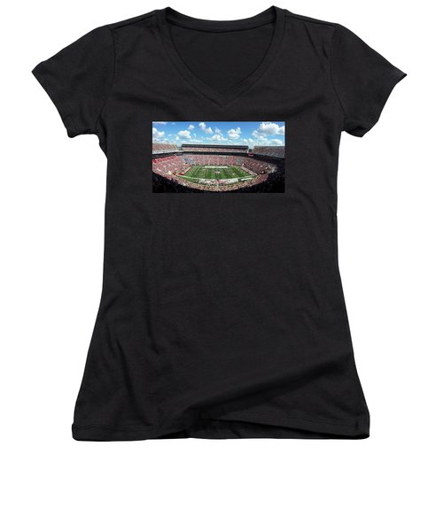 Bama Spell-out Panorama Women's V-Neck (Athletic Fit)