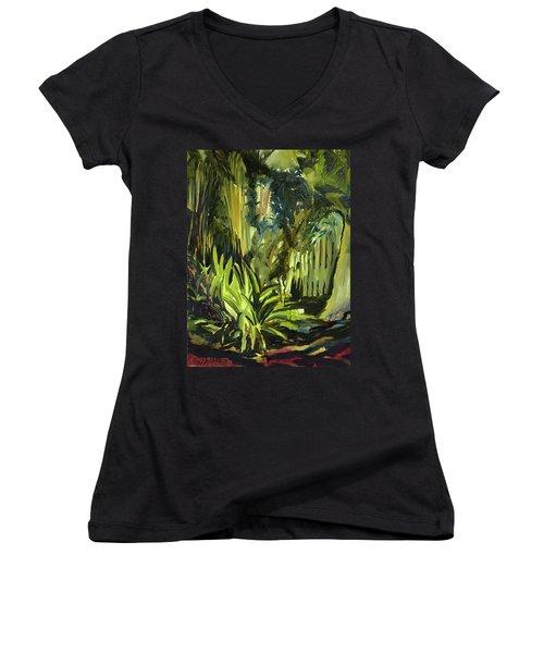 Bamboo Garden I Women's V-Neck