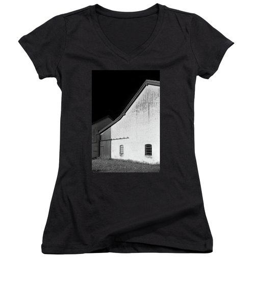Barn, Germany Women's V-Neck T-Shirt (Junior Cut) by Brooke T Ryan
