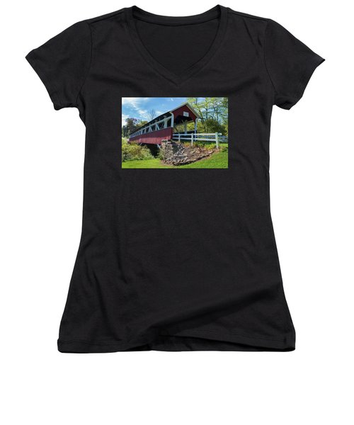 Barronvale Bridge  Women's V-Neck