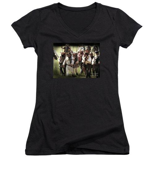 Battle Of San Jacinto Women's V-Neck T-Shirt