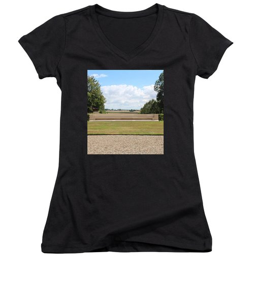 Historic View Women's V-Neck (Athletic Fit)