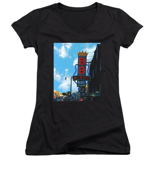 Bb Kings Women's V-Neck (Athletic Fit)