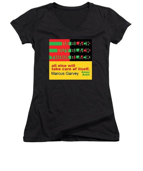 Be Black Rbg Women's V-Neck
