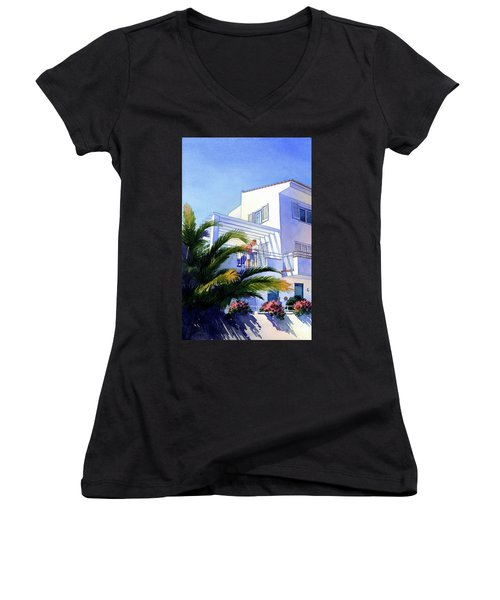 Beach House At Figueres Women's V-Neck