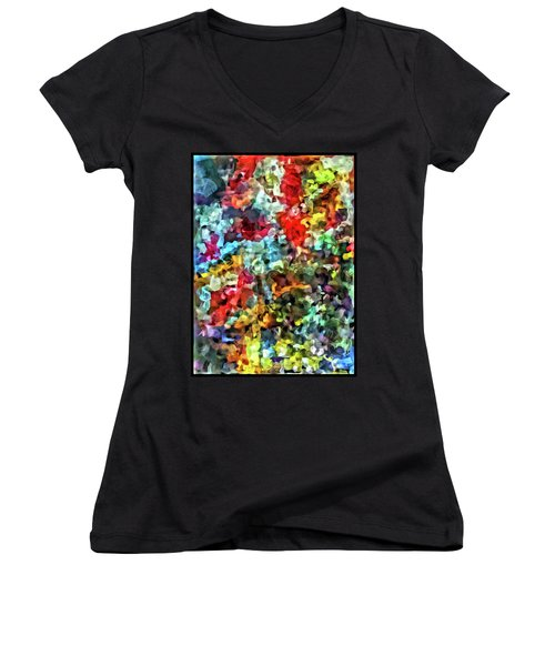 Beaded Bliss Women's V-Neck