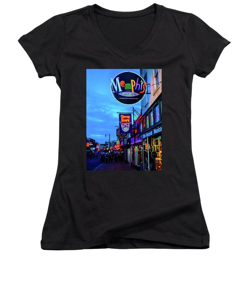 Beale Str. Blues  Women's V-Neck