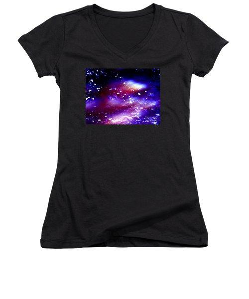 Beaming Light Women's V-Neck T-Shirt
