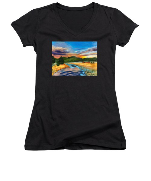 Bear Creek Colorado Women's V-Neck
