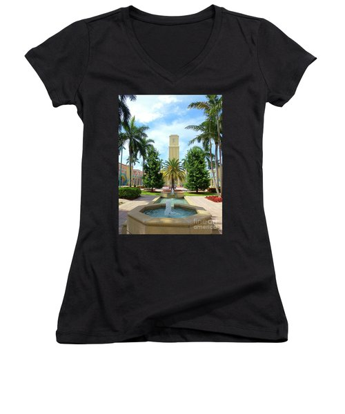 Beautiful Mizner Park In Boca Raton, Florida. #6  Women's V-Neck T-Shirt