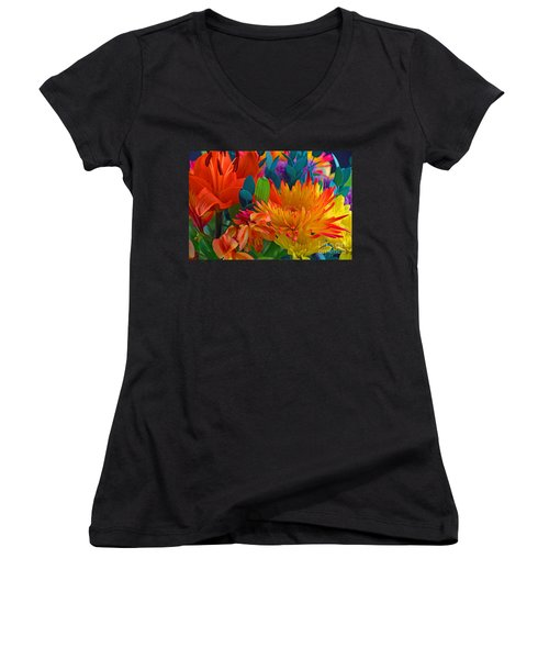 Beautiful To The Eyes  Women's V-Neck (Athletic Fit)