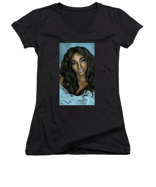 Beauty In Black Women's V-Neck T-Shirt