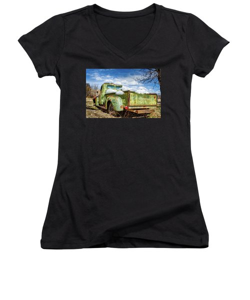 Bed Full Of Clouds Women's V-Neck