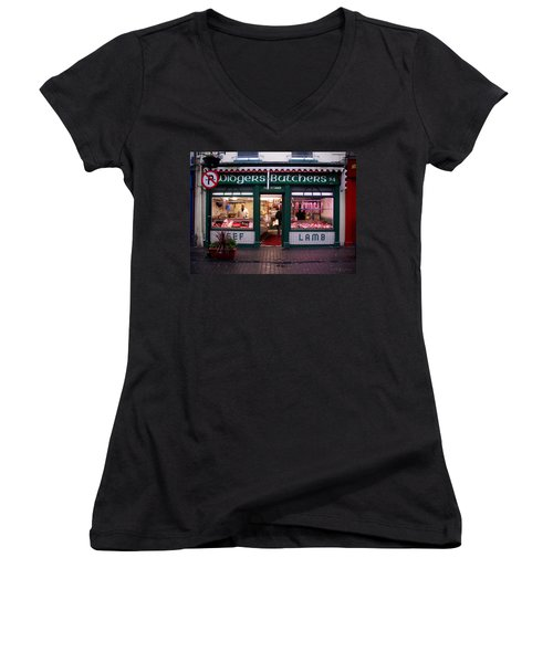 Beef Lamb Women's V-Neck