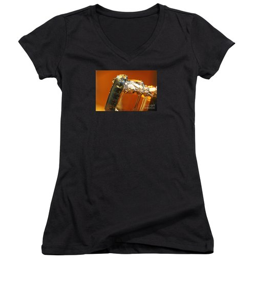 Beer Top Women's V-Neck (Athletic Fit)