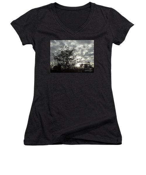Before The Adventure Women's V-Neck T-Shirt (Junior Cut) by Gem S Visionary