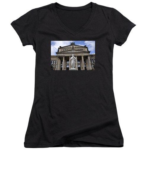 Berlin 4 Women's V-Neck T-Shirt