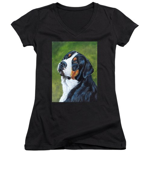 Bernie Women's V-Neck
