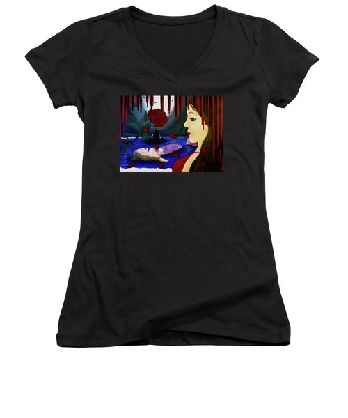 Betrayal Women's V-Neck