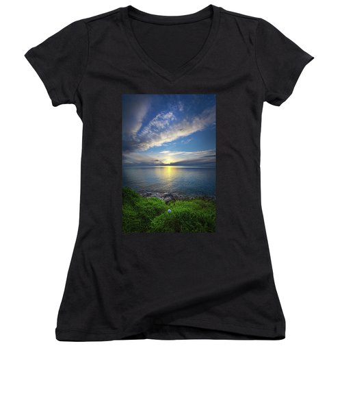 Biding Time Women's V-Neck