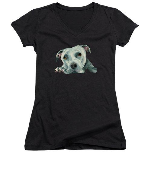 Big Ol' Head Women's V-Neck T-Shirt