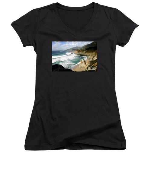 Big Sur Women's V-Neck T-Shirt