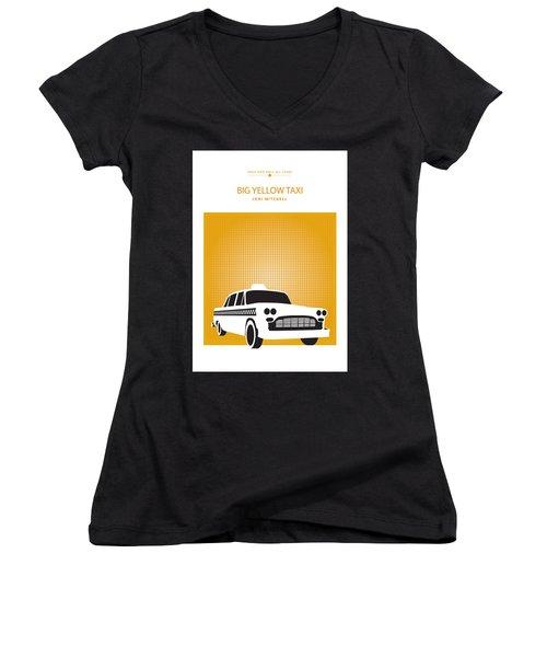 Big Yellow Taxi -- Joni Michel Women's V-Neck